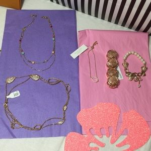 Lot of 5 Jewelry Bracelets Necklaces Juicy Couture